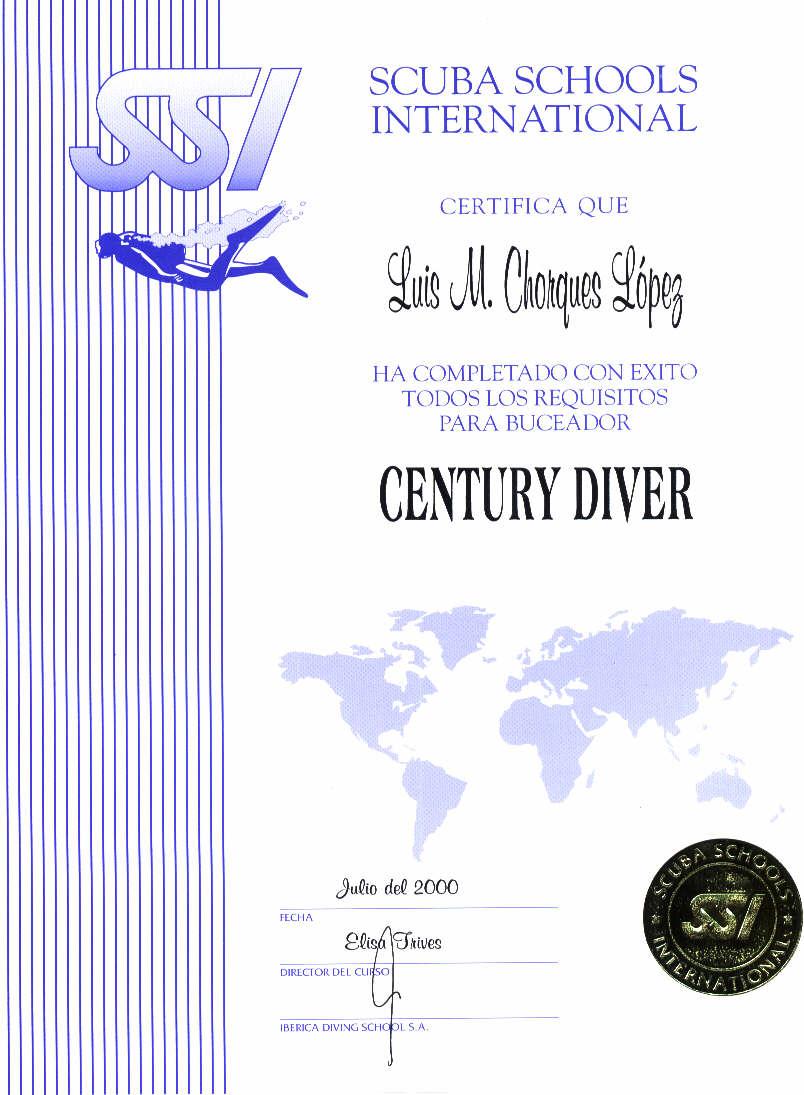 SSI  CENTURY DIVER