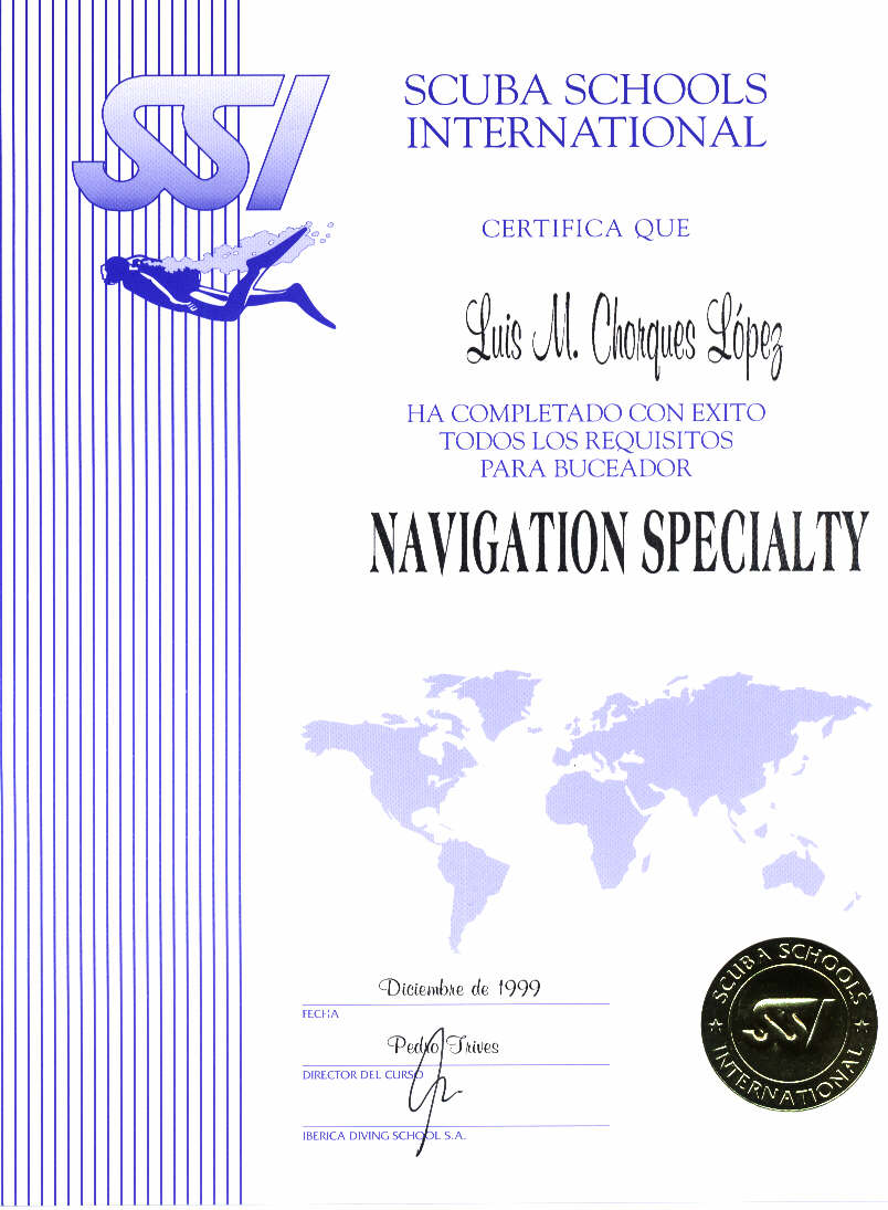 SSI  NAVEGATION SPECIALTY