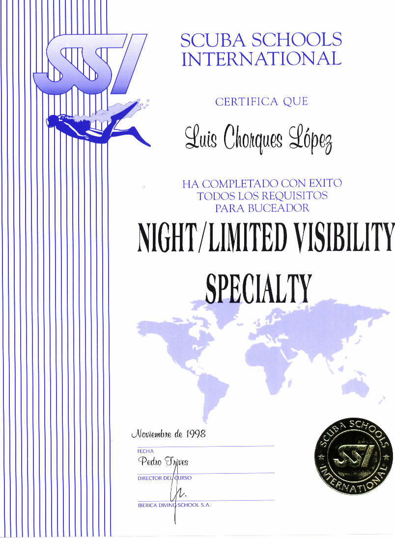 SSI  NIGHT- LIMITED VISIBILITY SPECIALTY